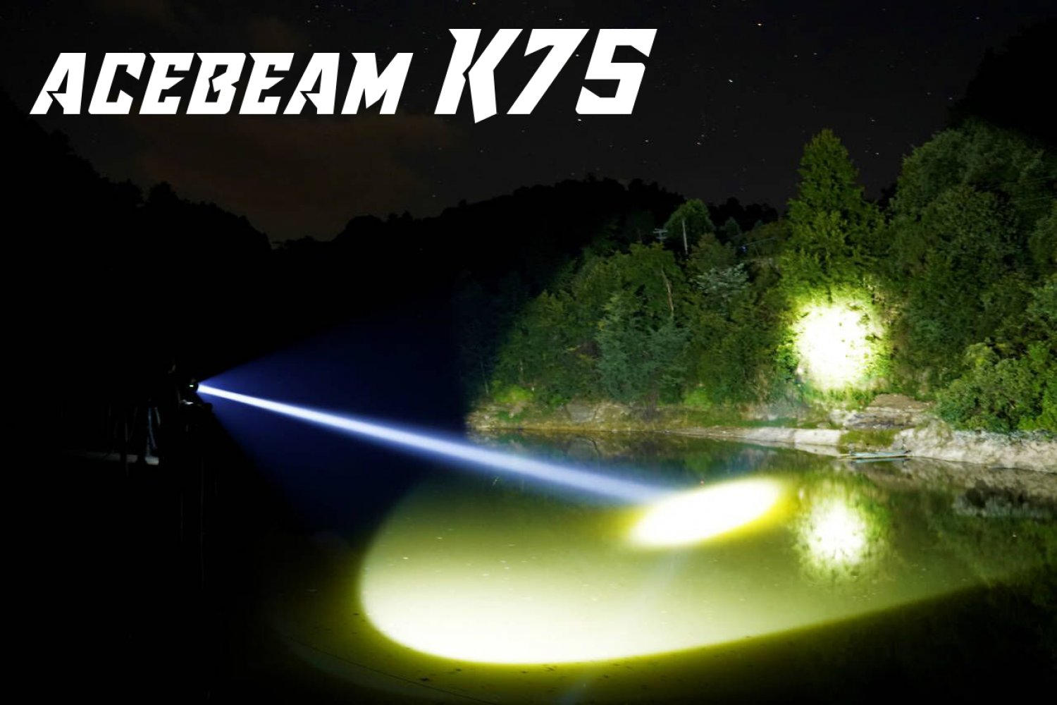 Acebeam K75 - LED Thrower mit 2,5 km Leuchtdistanz