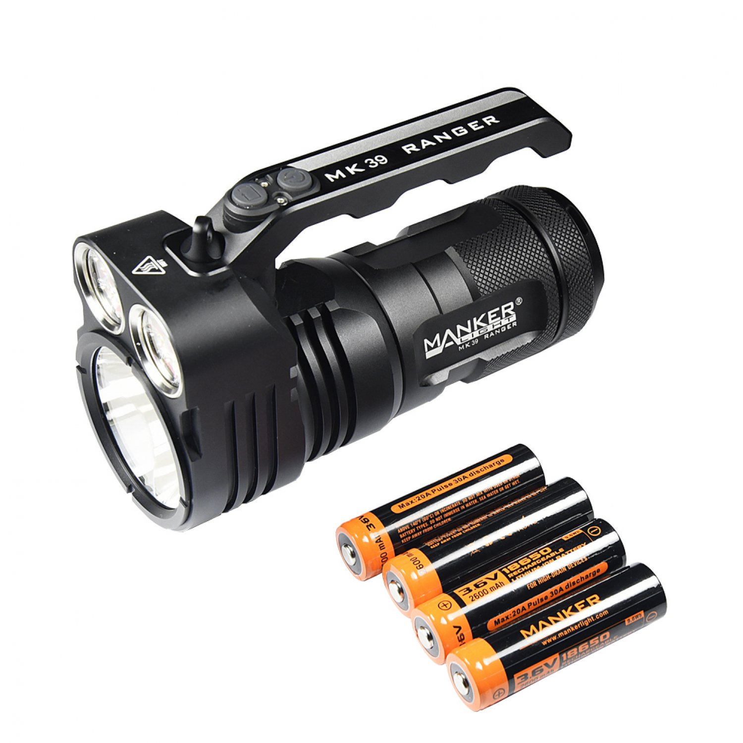 Manker MK39 Ranger NW Bundle - LED Lampe
