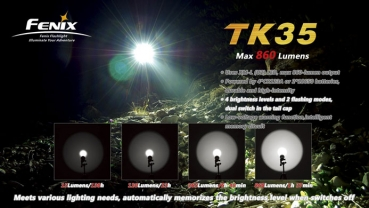 fenix schweiz fenix tk35 2018 led taschenlampe. Black Bedroom Furniture Sets. Home Design Ideas